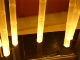 our bamboo light systems are complete units with bamboo light poles upper and lower end caps as well as lamp fixtures and wiring harness bamboo lighting fixtures